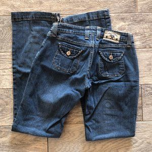 Wrangler 20X Jeans 3/4 x 32 Boot Cut Vintage Denim